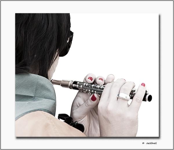 La flûte ...