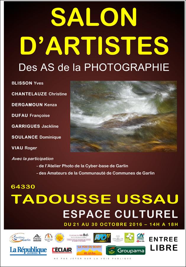 Exposition du 21 au 30 octobre 2016.