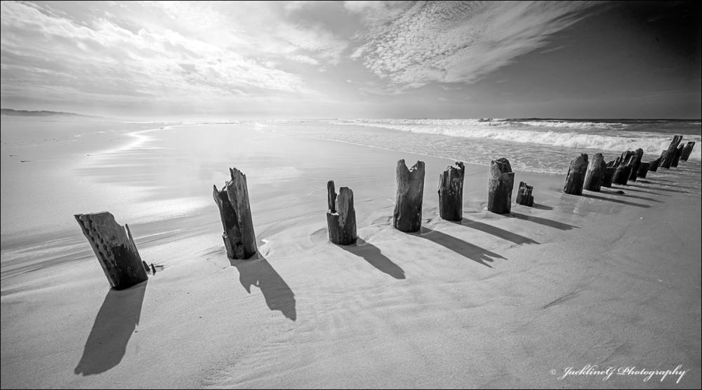 Les Moaï de la plage ...
