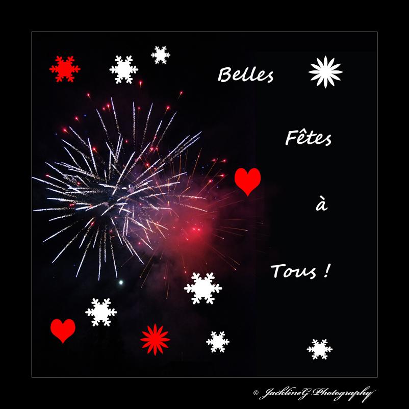 Belles Fêtes de fin d'année à tous ! ...