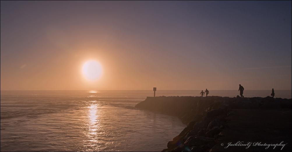 Aller au bout du monde admirer la course du soleil