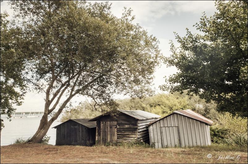 Les trois cabanes ...