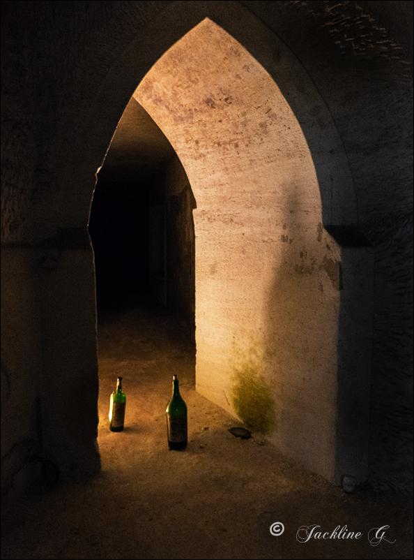 Dans la cave ... au château de La Rivière Fronsac