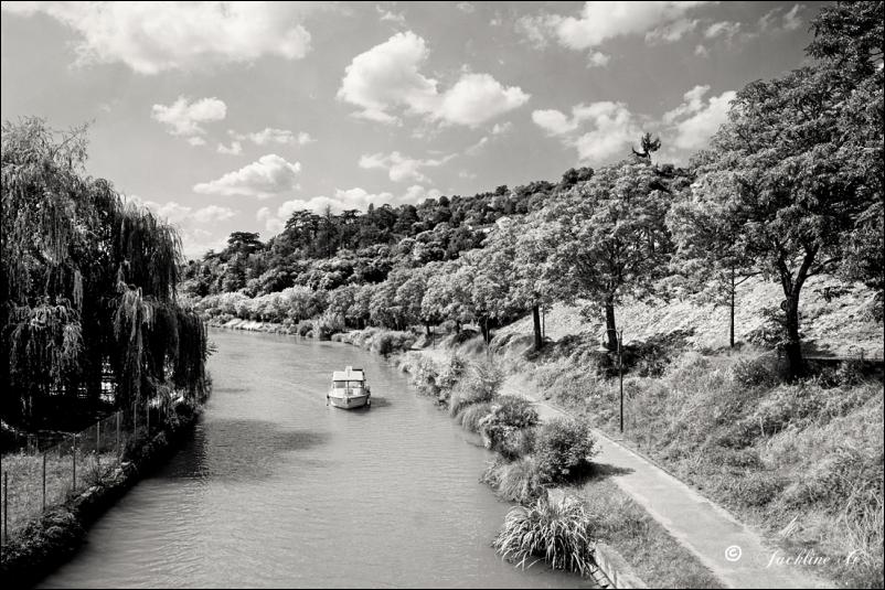 Le Canal à Agen (47)