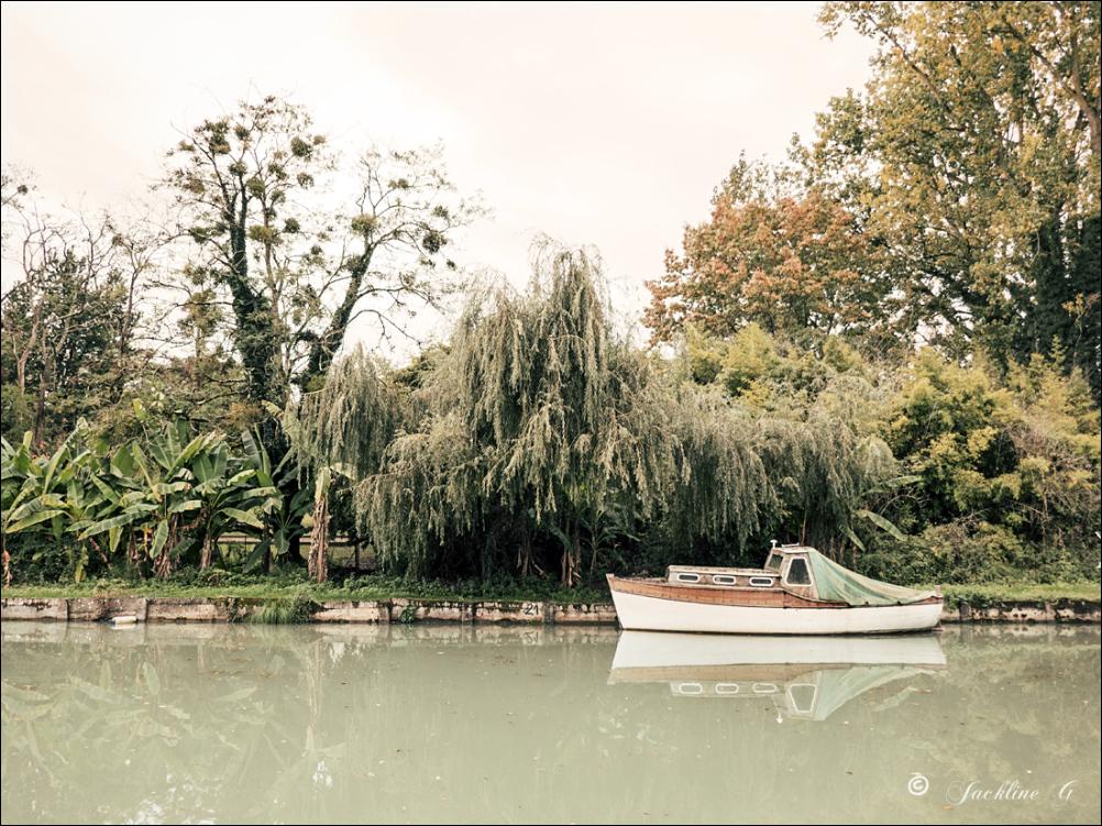 C'est l'automne au bord du canal ...