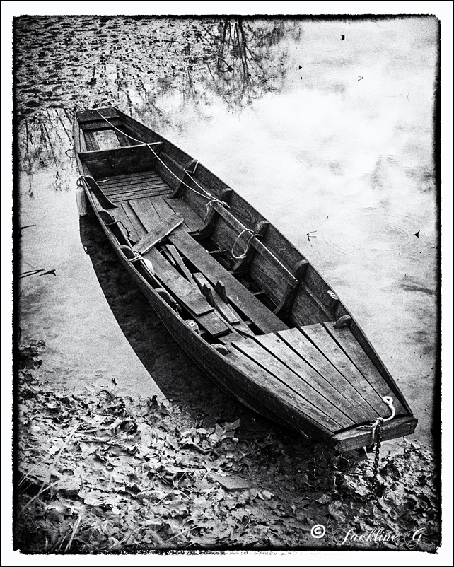 La vieille barque ...