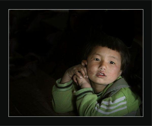 In a  Sherpa school 3 - Nepal