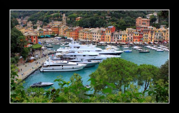 Small village, big yachts