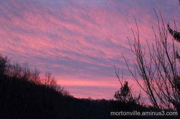 Sunrise in Mortonville