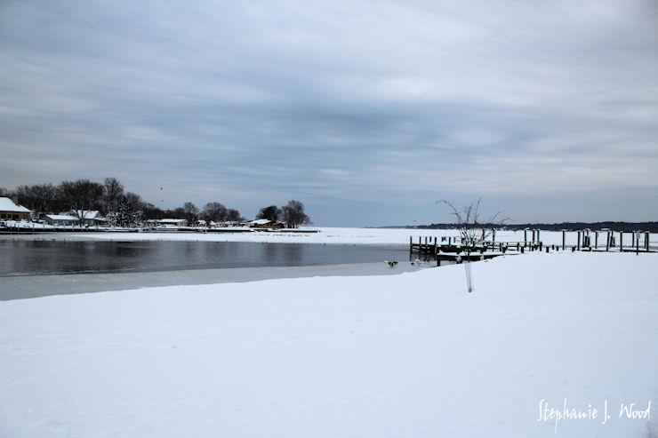 Upper Chesapeake Bay, frozen