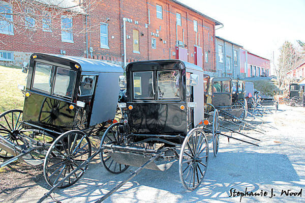 Mud Sale - Amish Buggy Parking