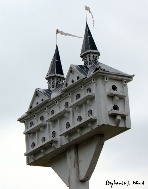 Chadds Ford Birdhouses #5 - Castle