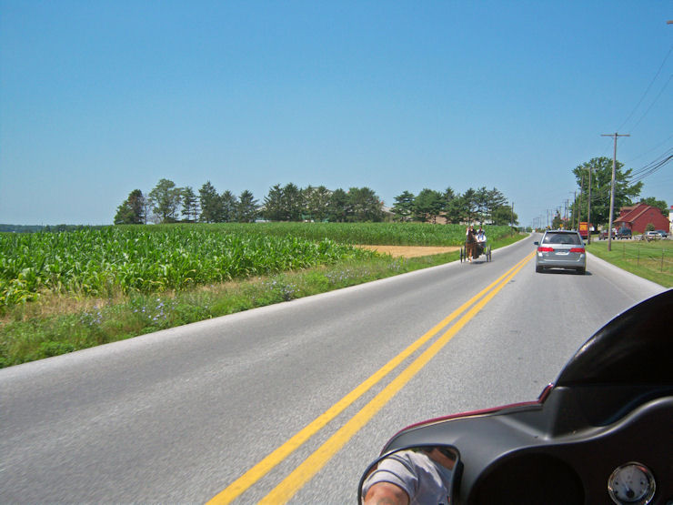 From the Back of a Harley