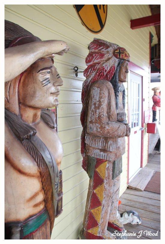 Wooden Indians