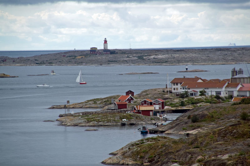 View from the see of lighthouse