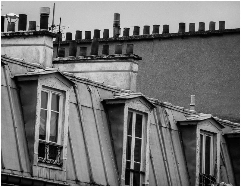 sous les toits de paris cityscape urban photos g ran. Black Bedroom Furniture Sets. Home Design Ideas