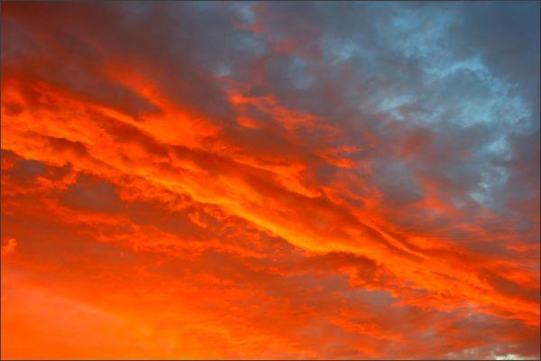 Un ciel de feu