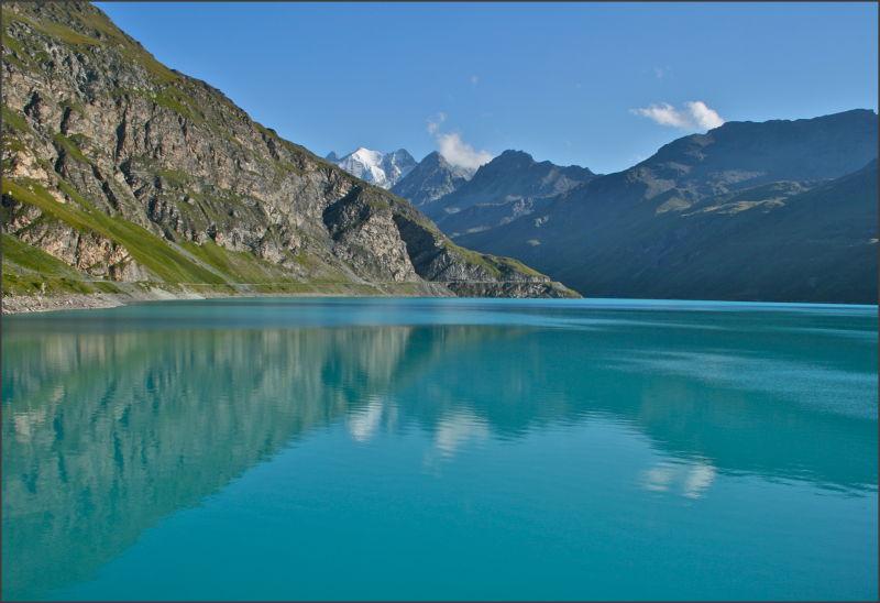 Le lac de Moiry