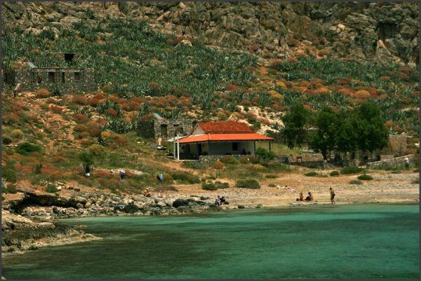 La presqu'Ile de Gramvoussa