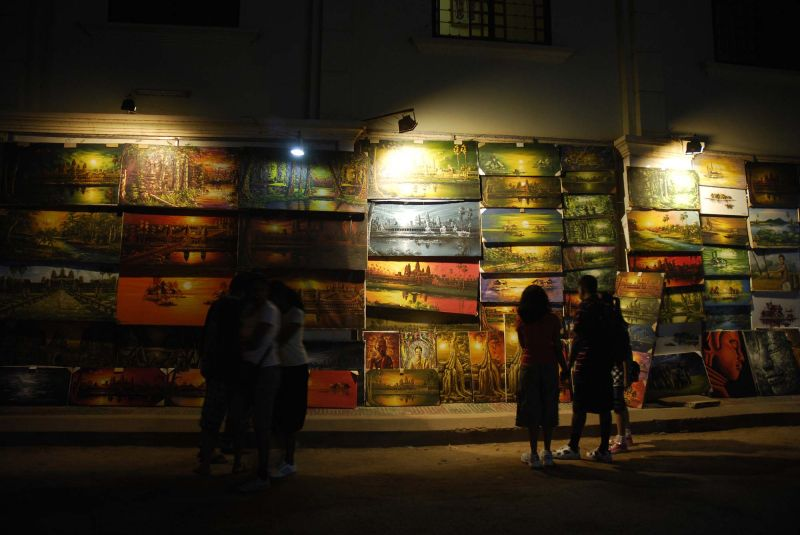 Night Market Angkor Wat