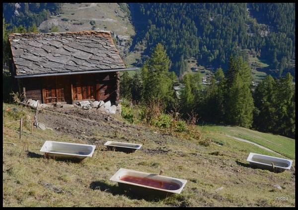 Evolène Valais Suisse