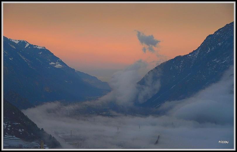 Chemin Valais Suisse