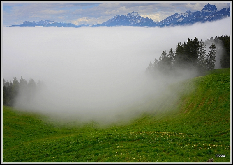 Les Giettes Valais Suisse