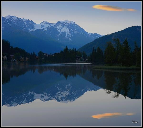 Champex Le Lac Valais Suisse
