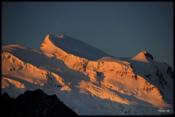 Fionnay Louvie Valais Suisse