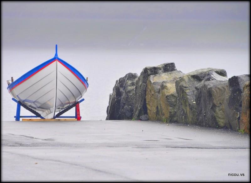 La barque au repos