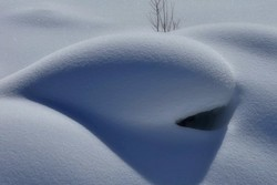 Bouche de neige