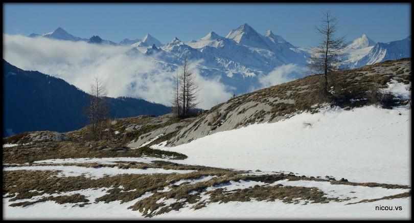 Suisse Valais Sanetsch