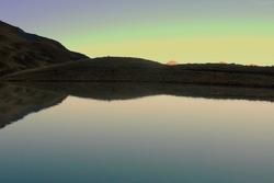 Le lac d'Anthème