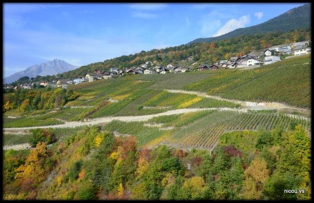 Drône Savièse Valais Suisse