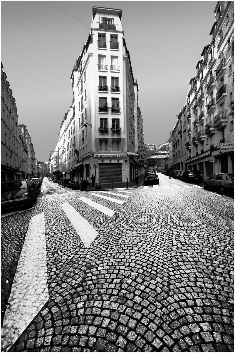 Parisian flat iron