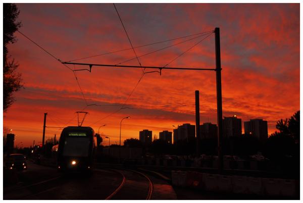 Early tram