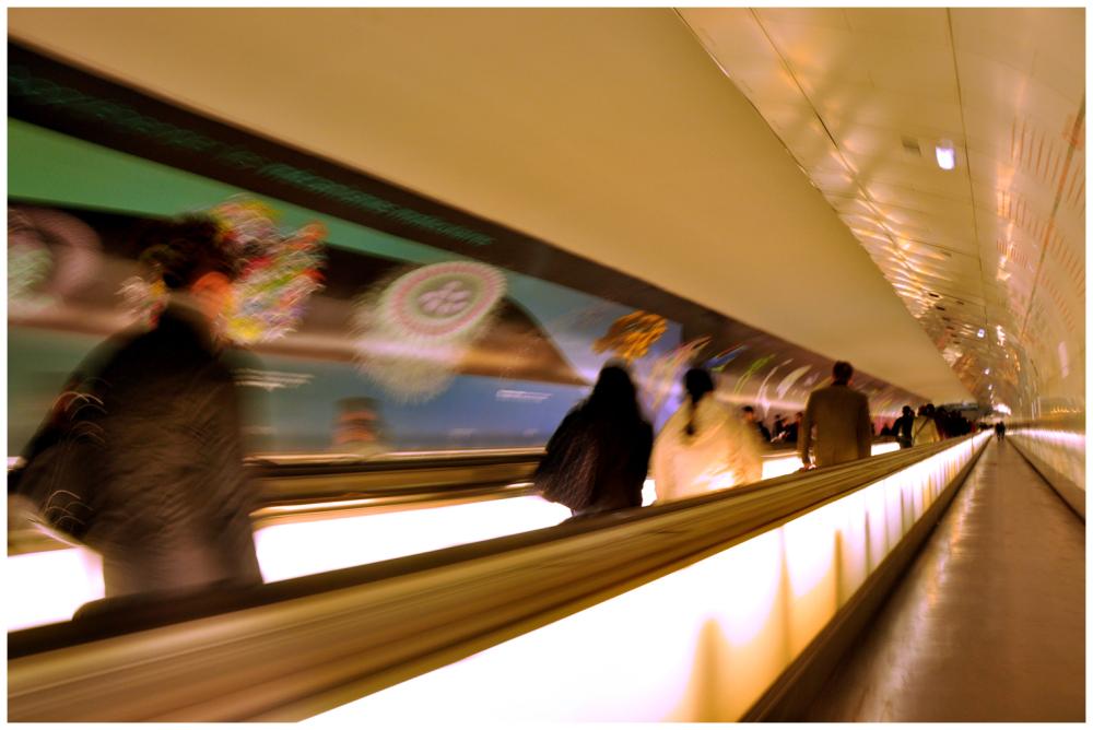 Le couloir de Montparnasse