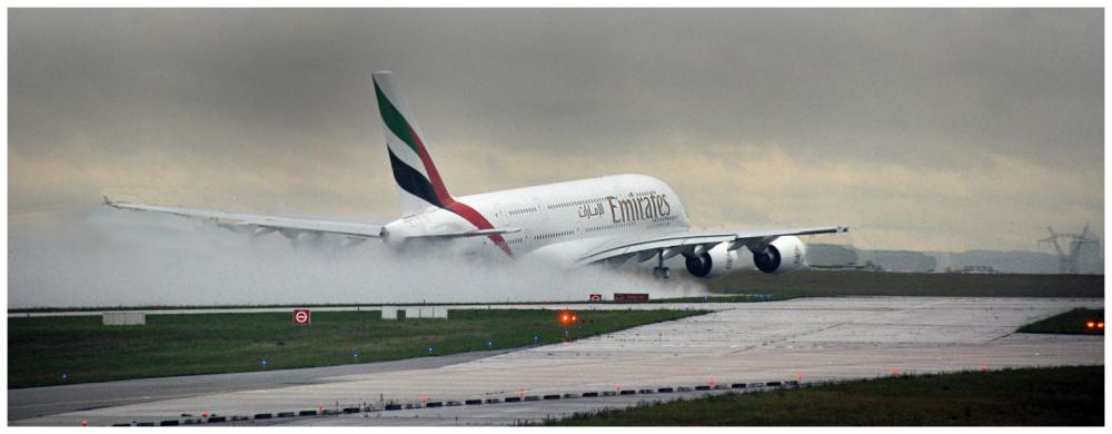 A380 takeoff