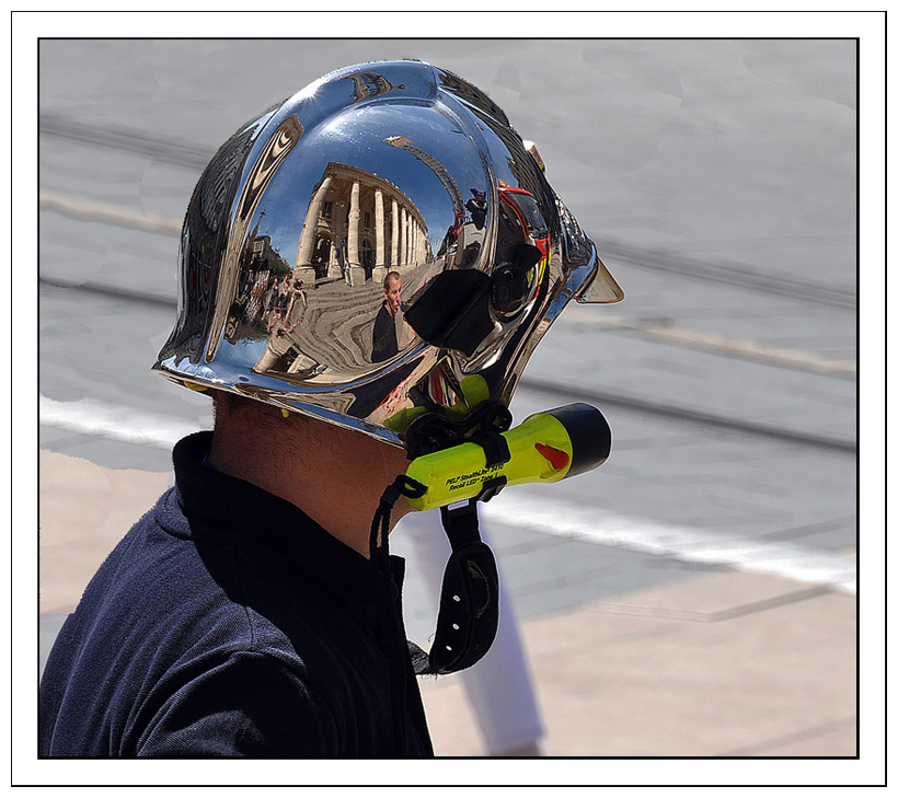 Exercice de pompier