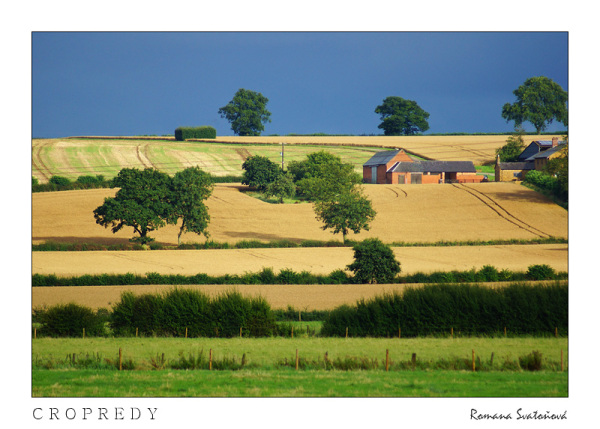 fields nearby Cropredy, England