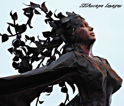 statue on Northerly Island