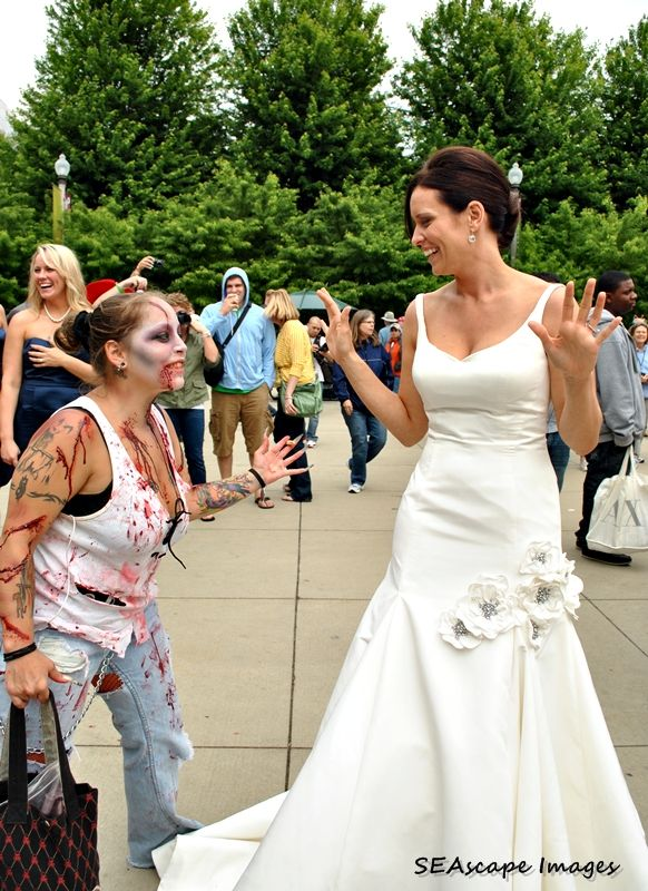 zombie and bride