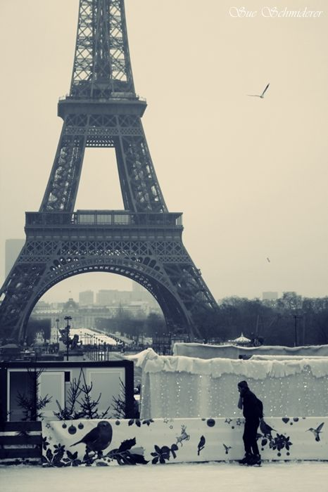 ...winter in Paris..