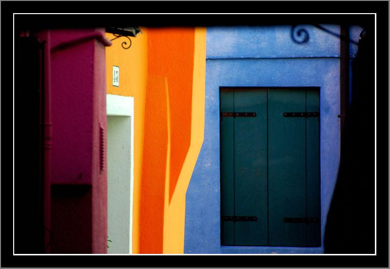 Burano colors