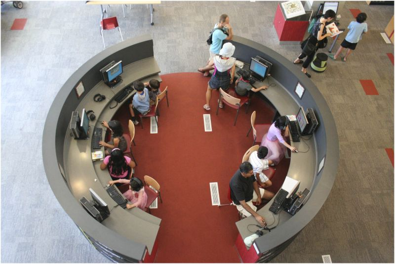 public library computers