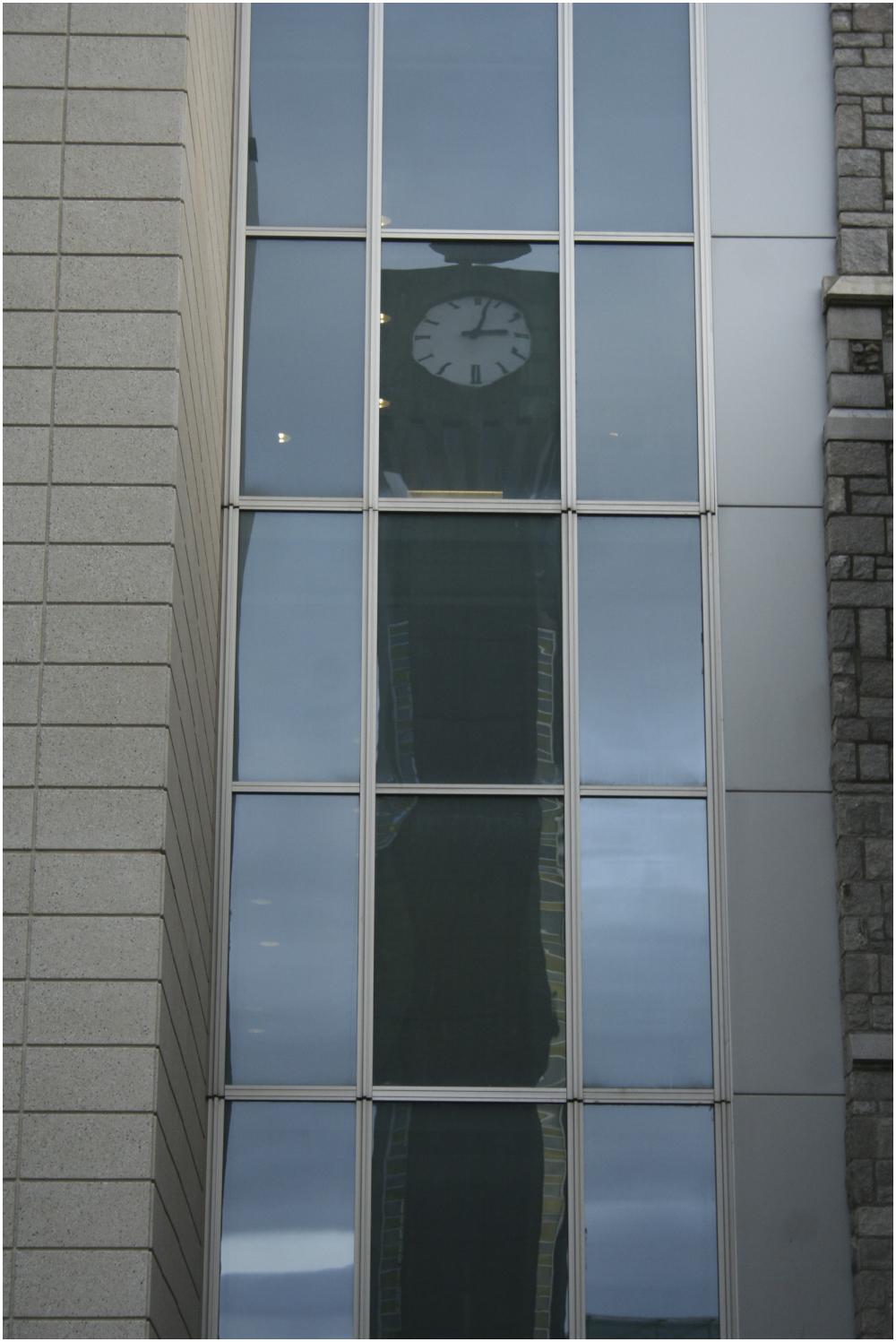 clock tower window