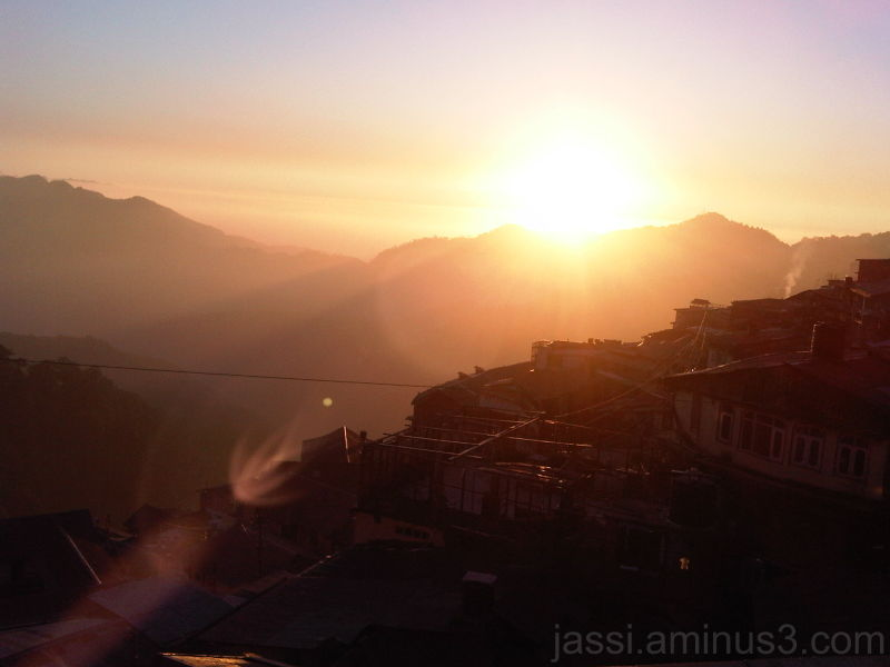 Last Light of the fading sun