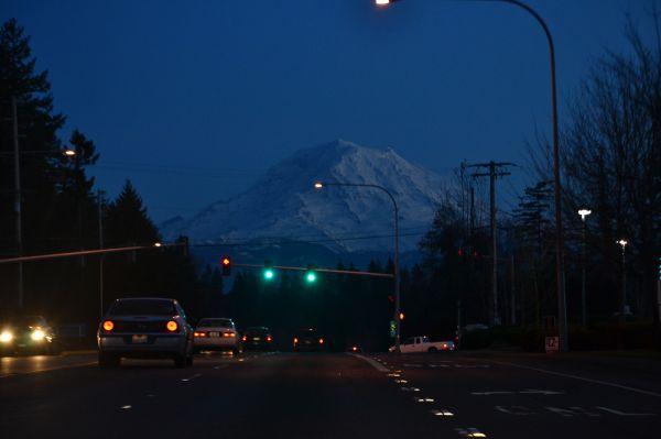Late night Rainier