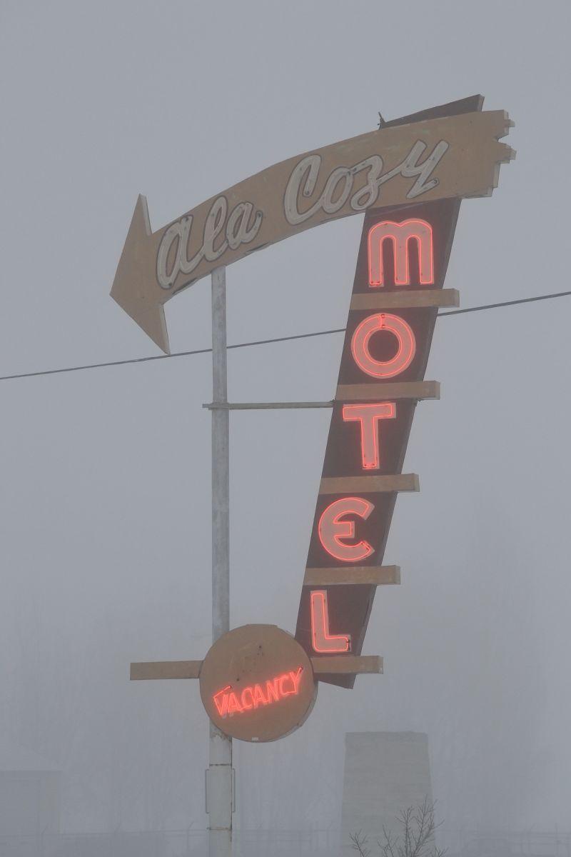 Foggy Motel Winter