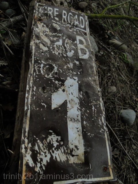 Beat Up Old Sign